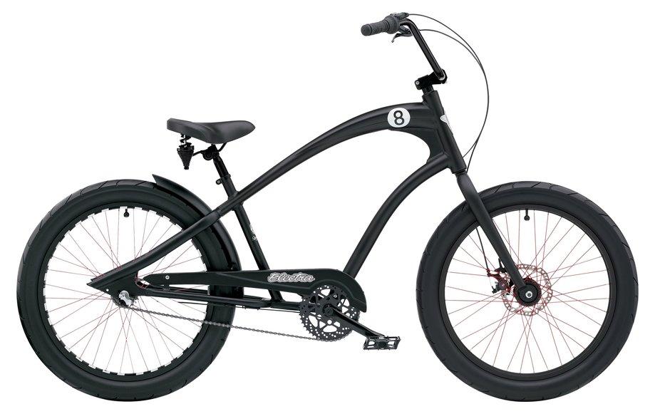 Fahrräder/citybike: Electra  Straight 8 8i Schwarz Modell 2021