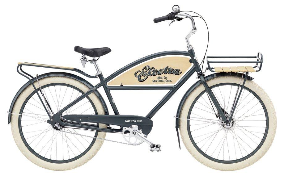 Fahrräder/citybike: Electra  Delivery 3i Step-Over Grau Modell 2021
