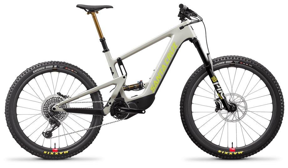 E-Bikes/e-bike: Santa Cruz  Heckler 8 MX XO1-Kit Reserve Grau Modell 2021