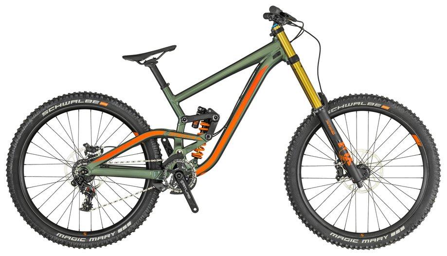 Fahrräder/Mountainbikes: Scott  Gambler 710 Grün Modell 2019