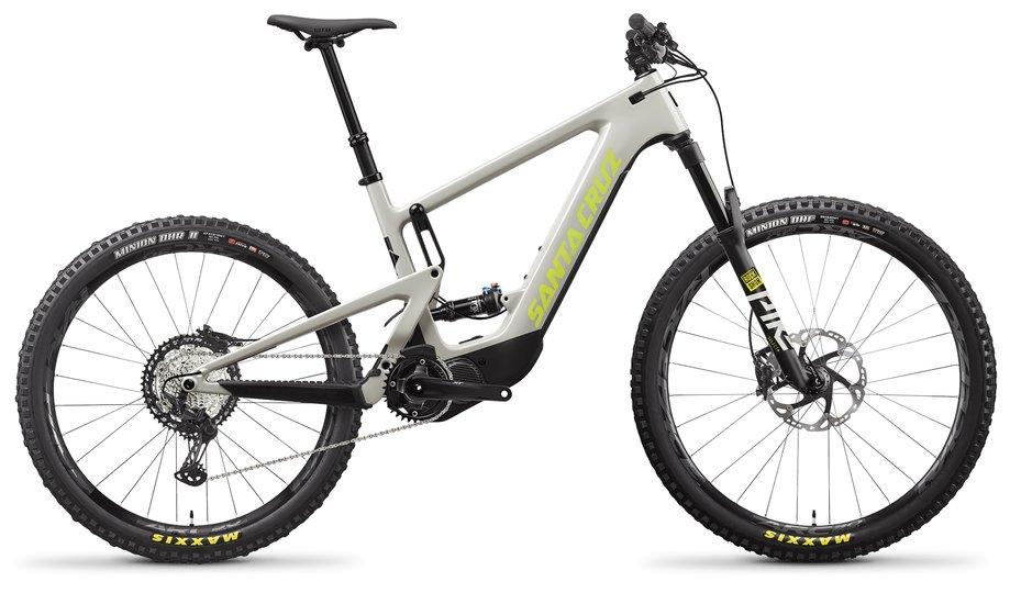 E-Bikes/e-bike: Santa Cruz  Heckler 8 MX XT-Kit Grau Modell 2021