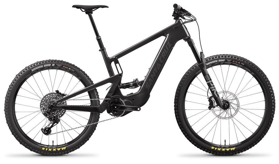 E-Bikes/e-bike: Santa Cruz  Heckler 8 MX S-Kit Schwarz Modell 2021