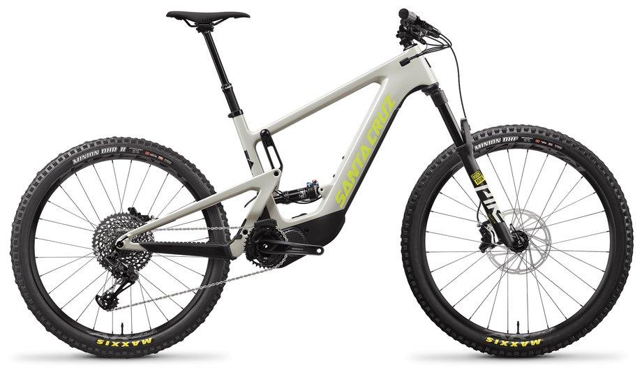 E-Bikes/e-bike: Santa Cruz  Heckler 8 MX S-Kit Grau Modell 2021