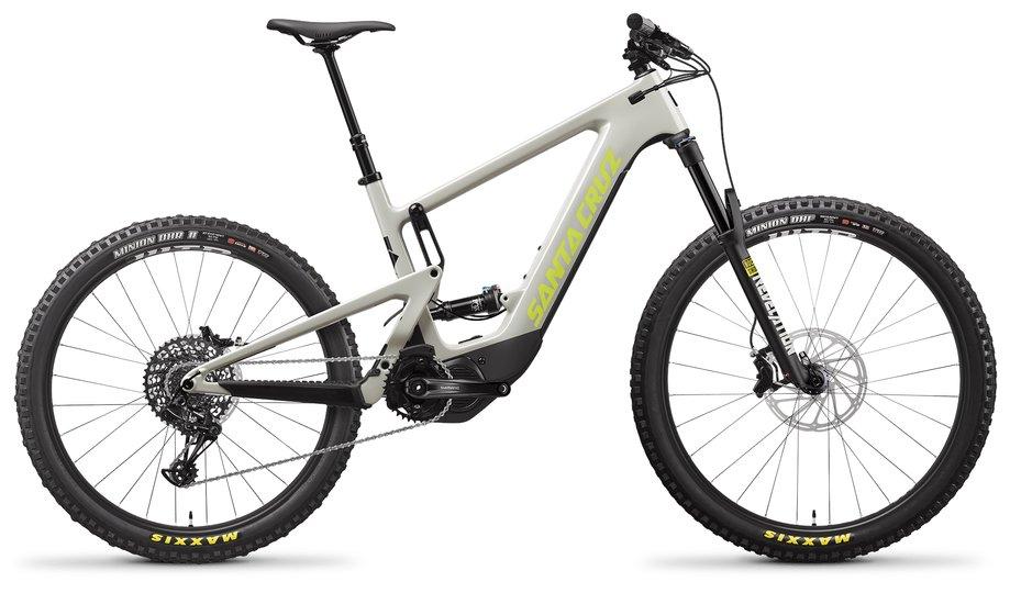 E-Bikes/e-bike: Santa Cruz  Heckler 8 MX R-Kit Grau Modell 2021