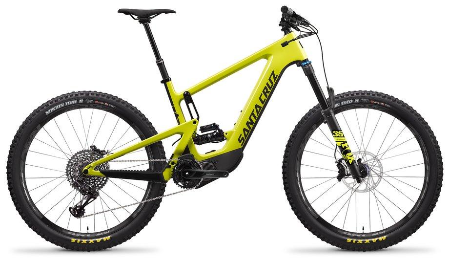 E-Bikes/e-bike: Santa Cruz  Heckler 8 CC S-Kit Gelb Modell 2021