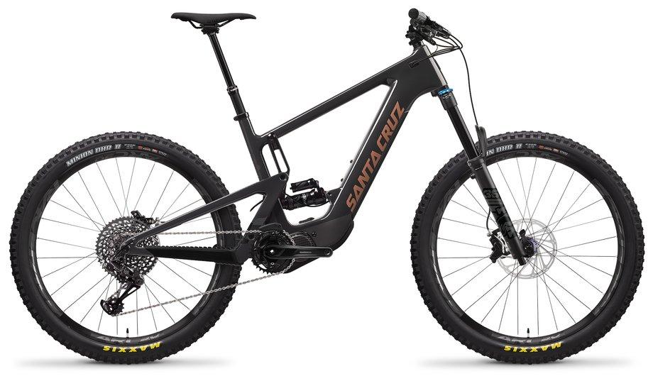 E-Bikes/e-bike: Santa Cruz  Heckler 8 CC S-Kit Schwarz Modell 2021