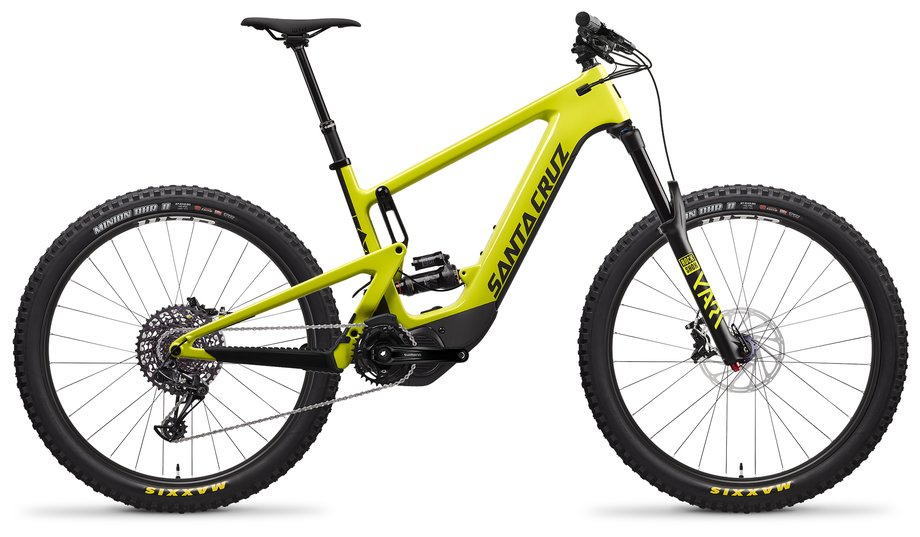E-Bikes/e-bike: Santa Cruz  Heckler 8 CC R-Kit Gelb Modell 2021