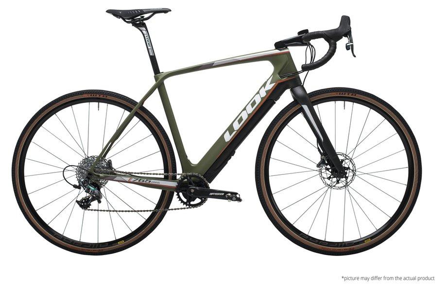 E-Bikes/e-bike: Look   E-765 Gr Disc Force All-Road Grün Modell 2020
