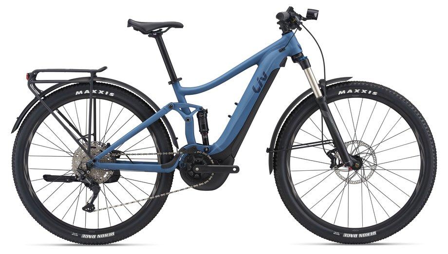 E-Bikes/e-bike: Liv  Embolden E+ EX Blau Modell 2021