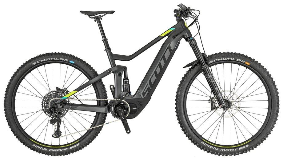 E-Bikes/e-bike: Scott  Genius eRide 910 Grau Modell 2019