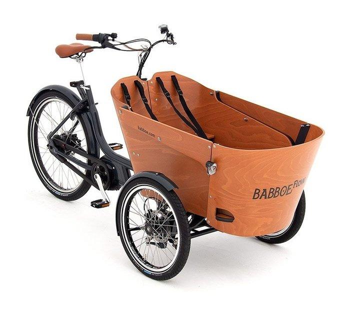 Fahrräder/lastenfahrräder: Babboe  Flow Mountain Grau Modell 2021