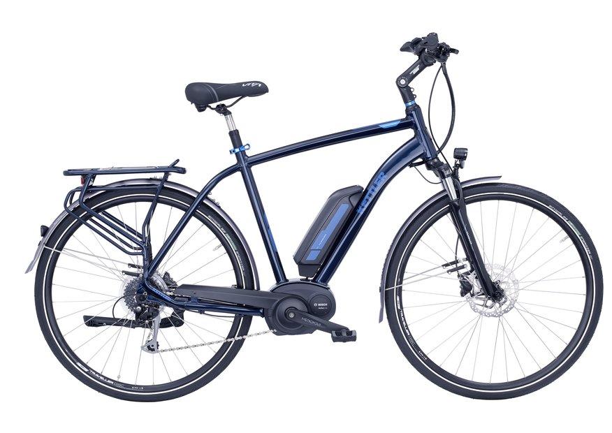 Kettler Traveller E Comfort 8G E-Bike Blau Modell 2017