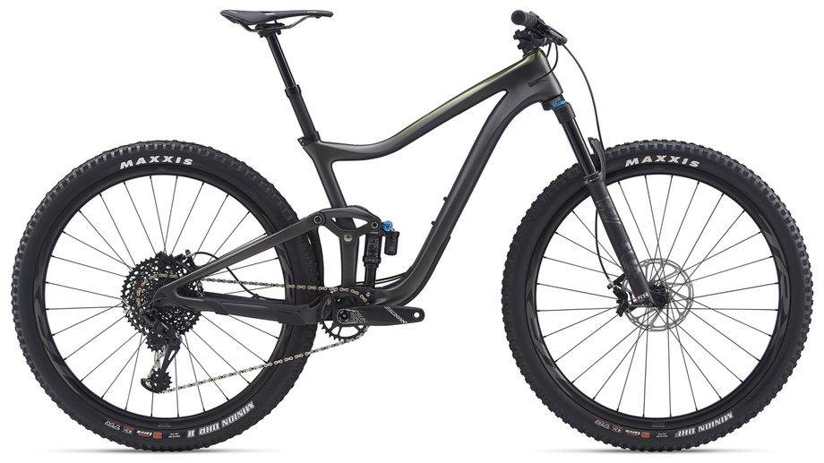 Fahrräder/Mountainbikes: GIANT Giant Trance Advanced Pro 29 1 Schwarz Modell 2020