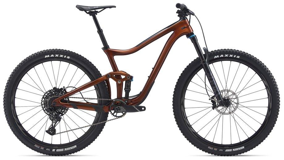 Fahrräder/Mountainbikes: GIANT Giant Trance Advanced Pro 29 2 Braun Modell 2020