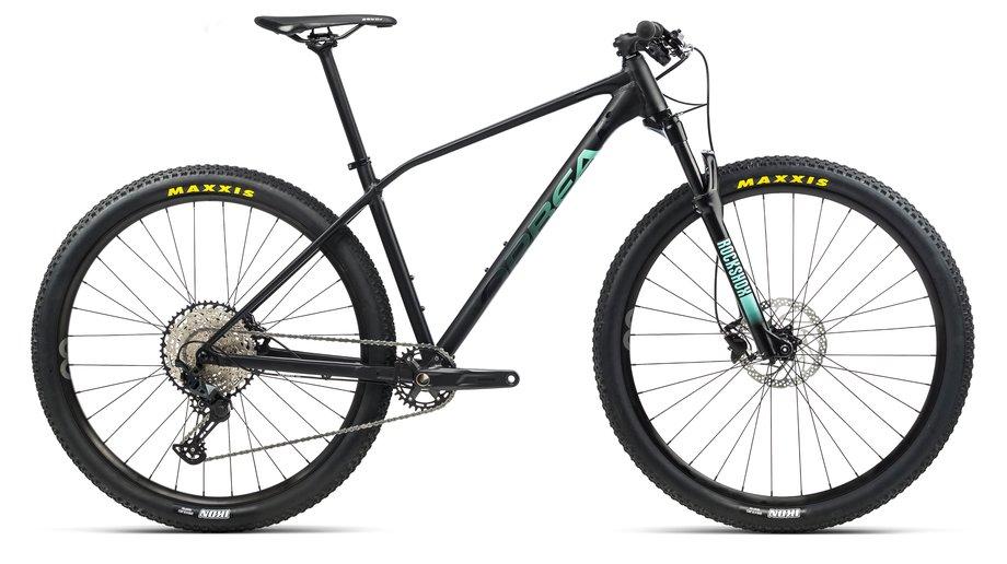 Fahrräder/Mountainbikes: Orbea  Alma H20 Schwarz Modell 2021
