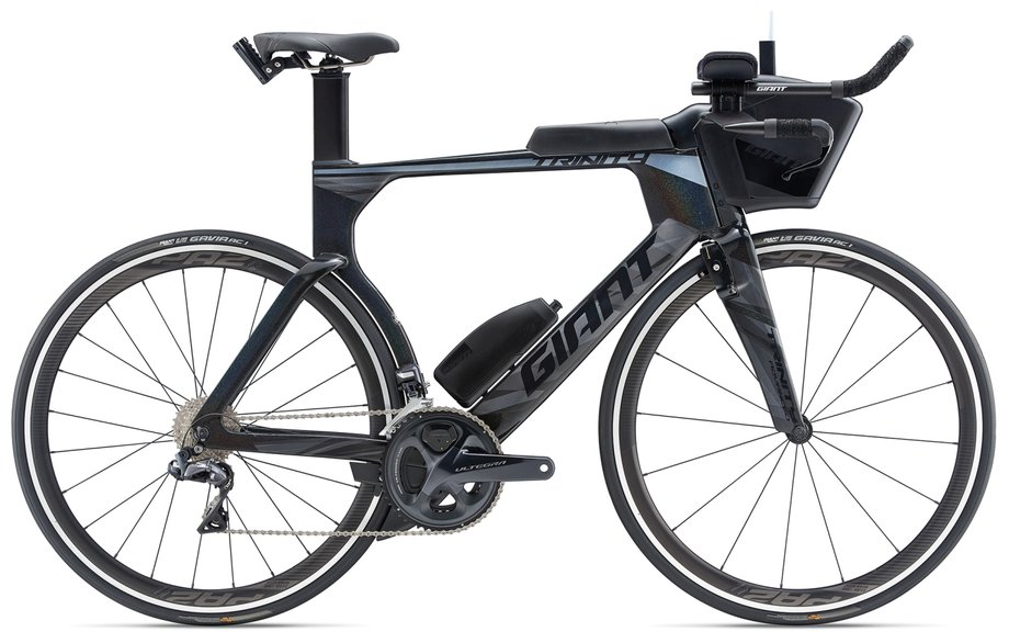 Fahrräder/rennräder: GIANT Giant Trinity Advanced Pro 1 Schwarz Modell 2019