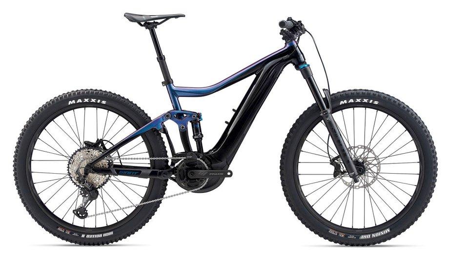 E-Bikes/e-bike: GIANT Giant Trance E+ 2 Pro Grün Modell 2020
