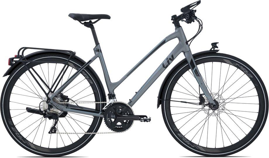 Fahrräder/trekkingräder: Liv  Lissom SLR 1 Schwarz Modell 2021
