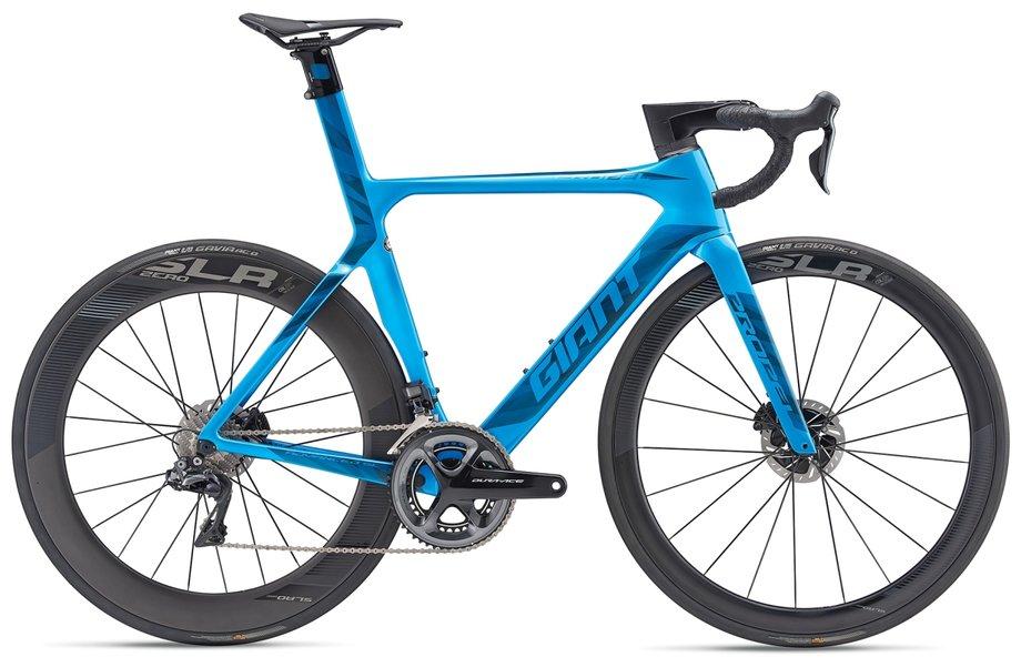 Fahrräder/rennräder: GIANT Giant Propel Advanced SL Disc Blau Modell 2019