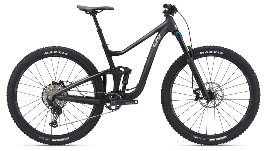 Fahrräder/Mountainbikes: Liv  Intrigue 2 Schwarz Modell 2021