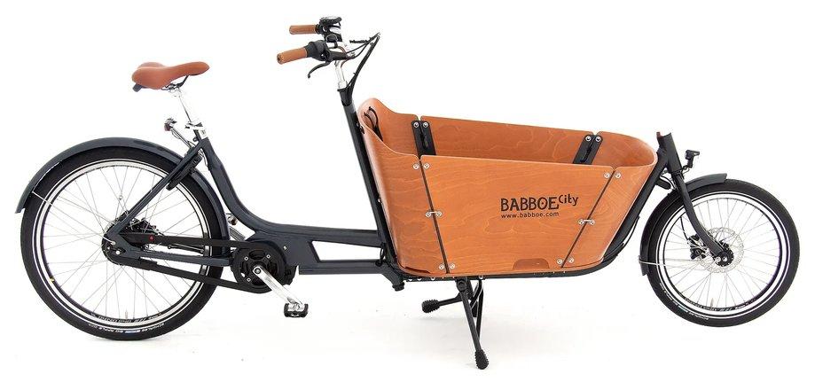 Fahrräder/lastenfahrräder: Babboe  City Mountain Schwarz Modell 2020