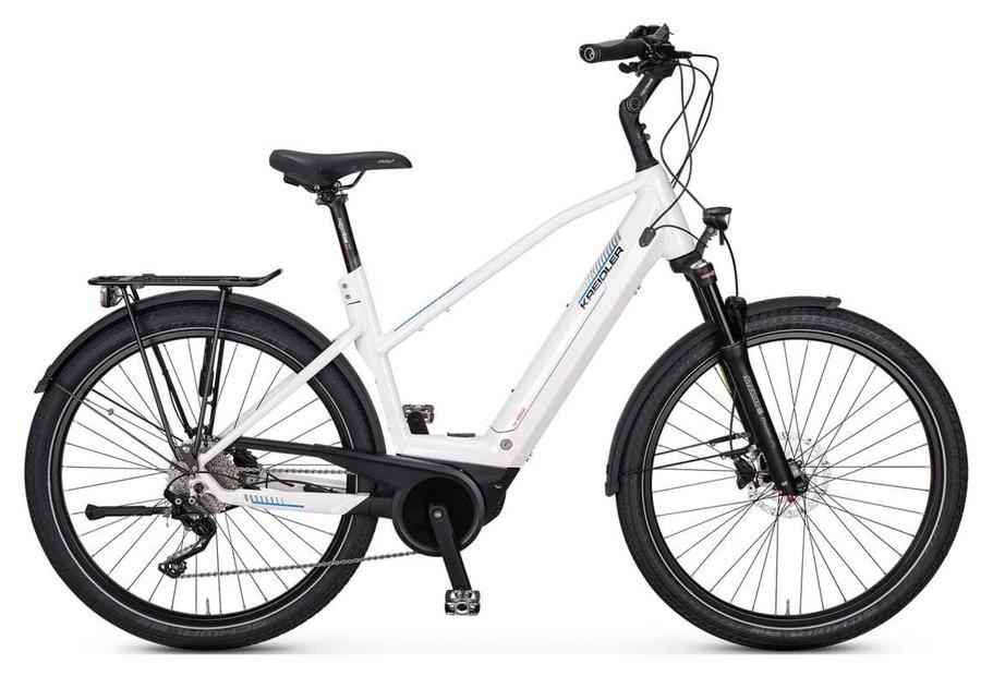 E-Bikes/e-bike: Kreidler  Vitality Eco 10 Weiß Modell 2020