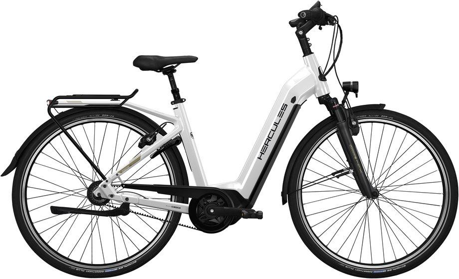 E-Bikes/e-bike: Hercules  Roberta Pro I-R8 Weiß Modell 2021