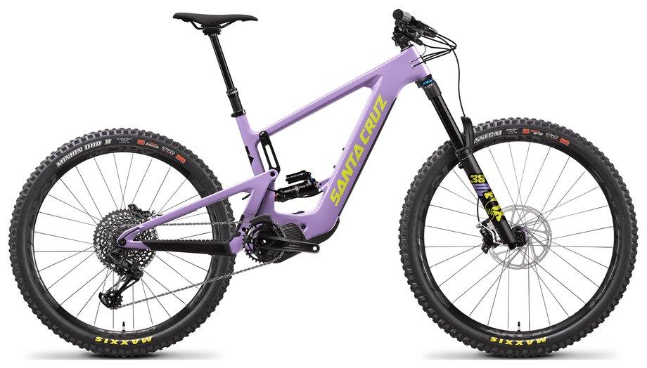 E-Bikes/e-bike: Santa Cruz  Bullit 3 CC S-Kit Lila Modell 2021