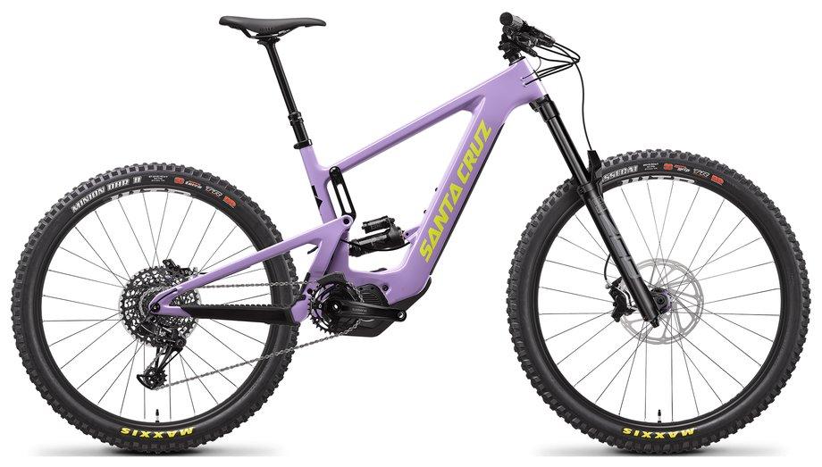 E-Bikes/e-bike: Santa Cruz  Bullit 3 CC R-Kit Lila Modell 2021