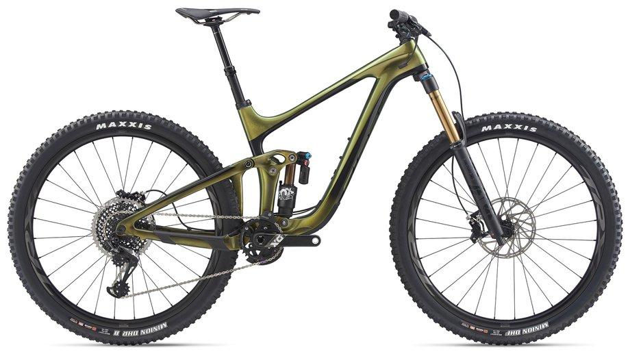 Fahrräder/Mountainbikes: GIANT Giant Reign Advanced Pro 29 0 Grün Modell 2020