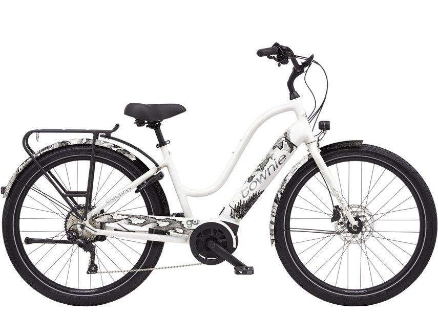 E-Bikes/e-bike: Electra  Townie Path Go! 10D Step-Thru Weiß Modell 2021