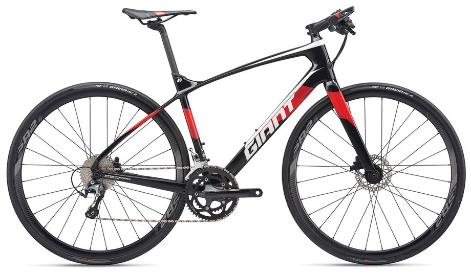 Giant FastRoad Advanced 2 Schwarz Modell 2019