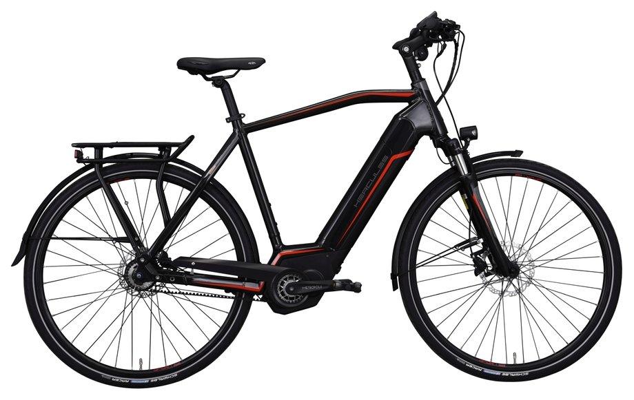 E-Bikes/e-bike: Hercules  Futura Sport I-F8 Schwarz Modell 2019