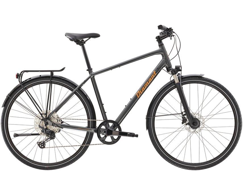 Fahrräder/trekkingräder: Diamant  Elan Super Deluxe Grau Modell 2021