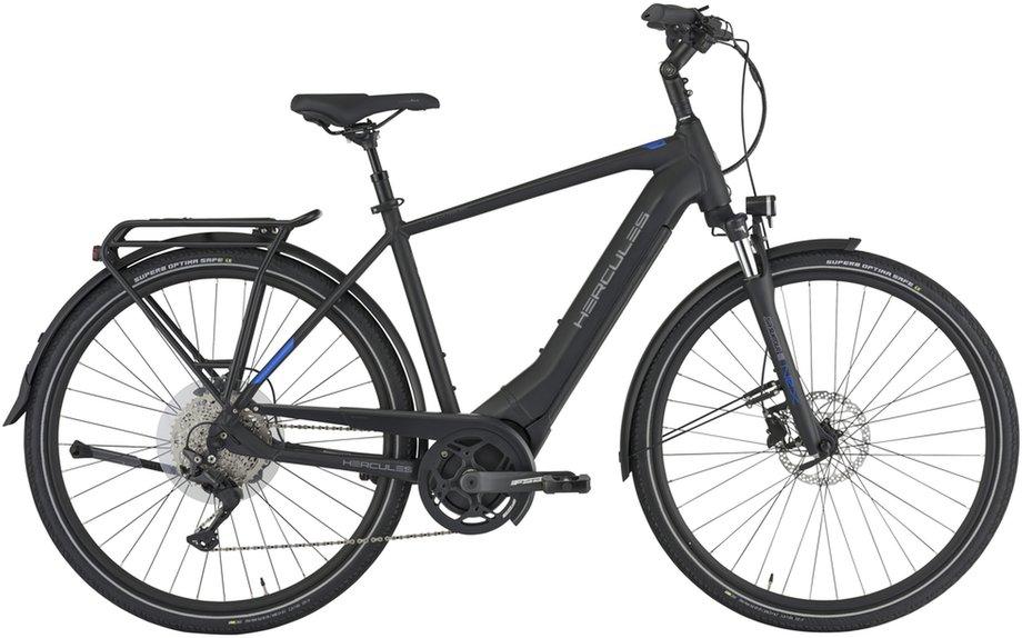 E-Bikes/e-bike: Hercules  Pasero Sport I-10 Schwarz Modell 2021