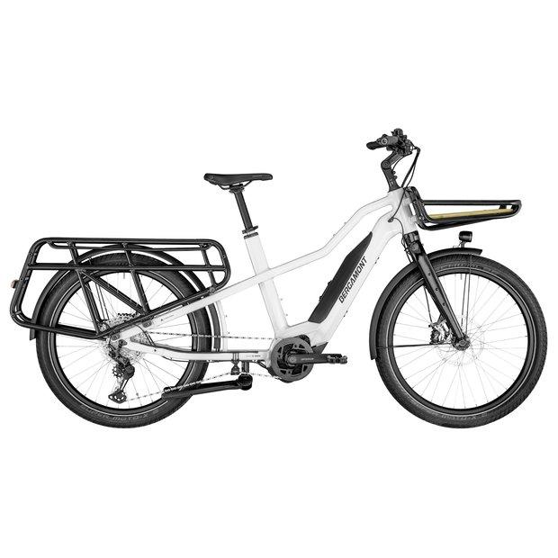 Fahrräder/lastenfahrräder: Bergamont Bergamont E-Cargoville LT Expert Weiß Modell 2021
