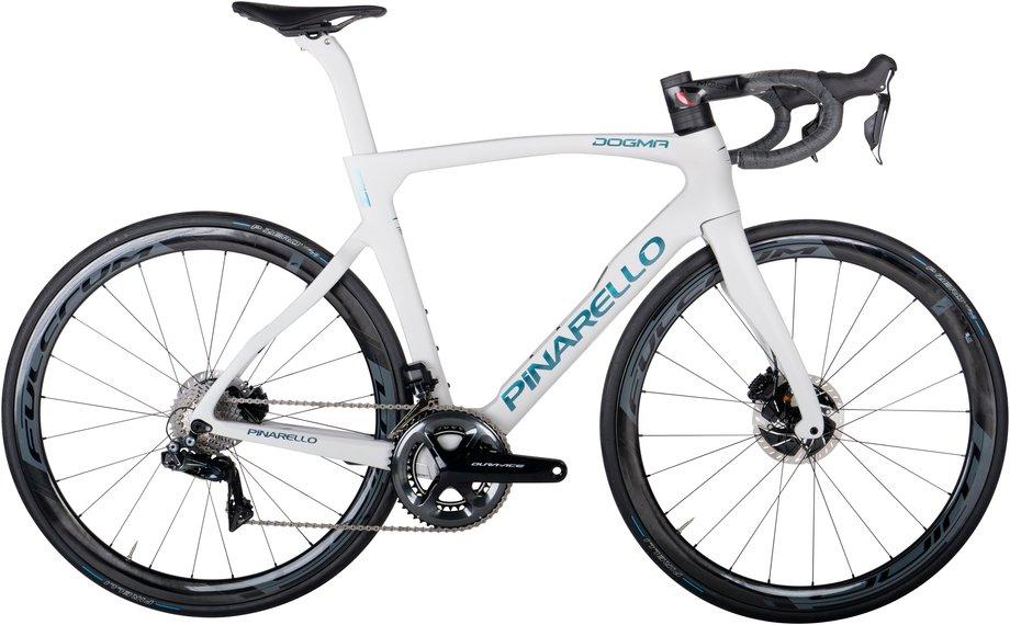 Fahrräder/rennräder: Pinarello  Dogma F12 Disk - Dura Ace Di2 - Fulcrum 400 Grau Modell 2021