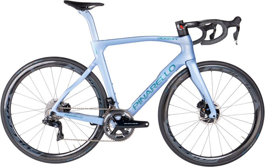 Fahrräder/rennräder: Pinarello  Dogma F12 Disk - Dura Ace Di2 - Fulcrum 400 Blau Modell 2021