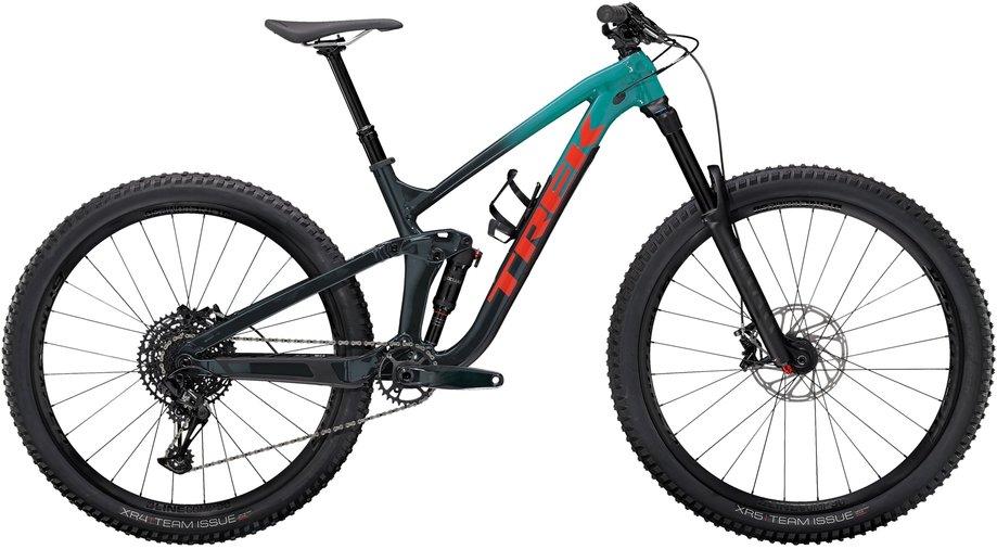 Fahrräder/Mountainbikes: Trek  Slash 7 Blau Modell 2021