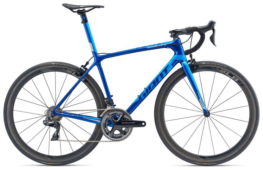 Fahrräder/rennräder: GIANT Giant TCR Advanced SL 0 Blau Modell 2019