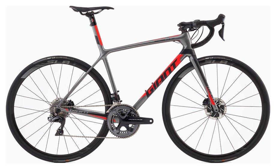 Fahrräder/rennräder: GIANT Giant TCR Advanced SL 0 Disc Grau Modell 2019