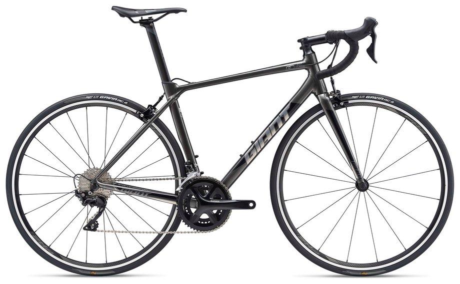 Fahrräder/rennräder: GIANT Giant TCR Advanced SL 1 Di2 Schwarz Modell 2019