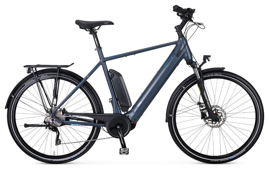 E-Bikes/e-bike: Kreidler  Vitality Eco 8 EXT Grau Modell 2020
