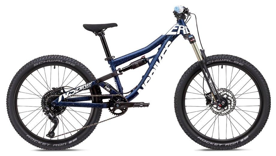 Fahrräder/Mountainbikes: NS Bikes  Nerd Junior Blau Modell 2021