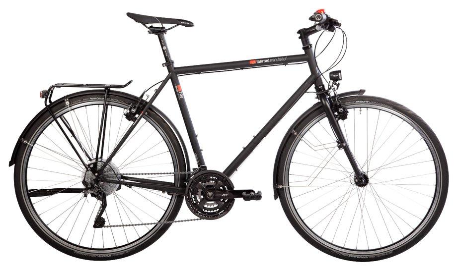 Fahrräder/citybike: VSF-fahrradmanufaktur  T-700 Nabe HS22 Schwarz Modell 2020