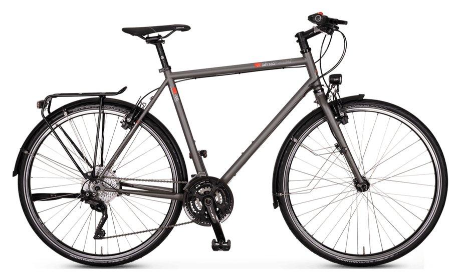 Fahrräder/citybike: VSF-fahrradmanufaktur  T-700 Nabe HS22 Grau Modell 2020