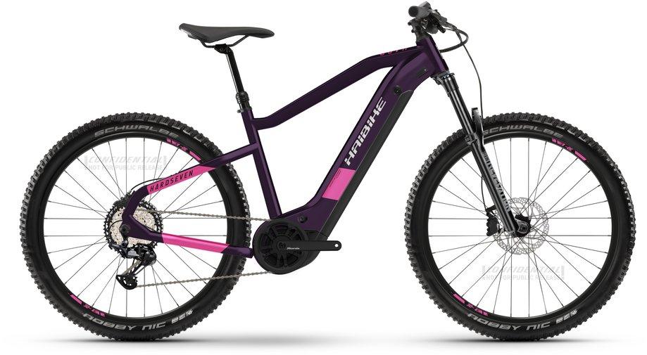 Haibike HardSeven 8 E Bike Lila Modell 2021