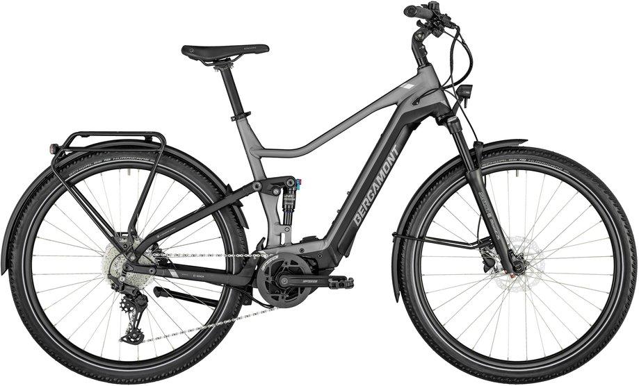 E-Bikes/e-bike: Bergamont Bergamont E-Horizon FS Expert Silber Modell 2021