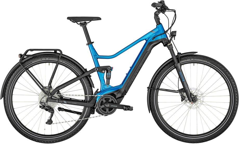 E-Bikes/e-bike: Bergamont Bergamont E-Horizon FS Edition Blau Modell 2021