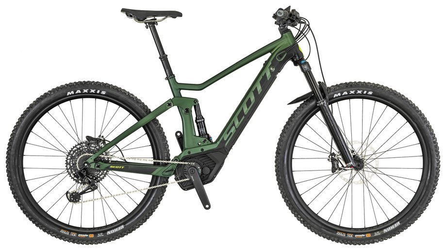 E-Bikes/e-bike: Scott  Strike eRide 710 Grün Modell 2019